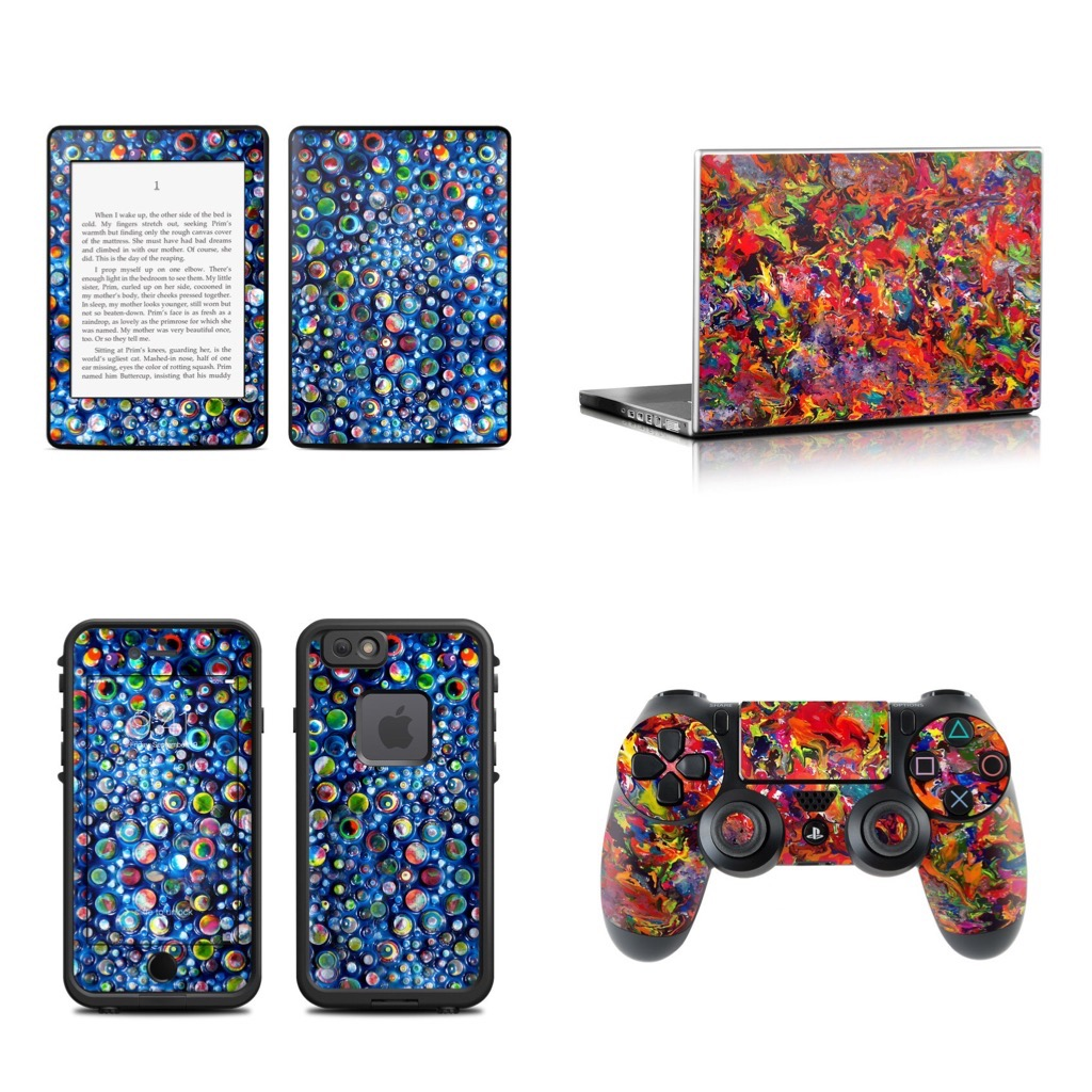 New xBox and Kindle Skins licensed by Decal Girl