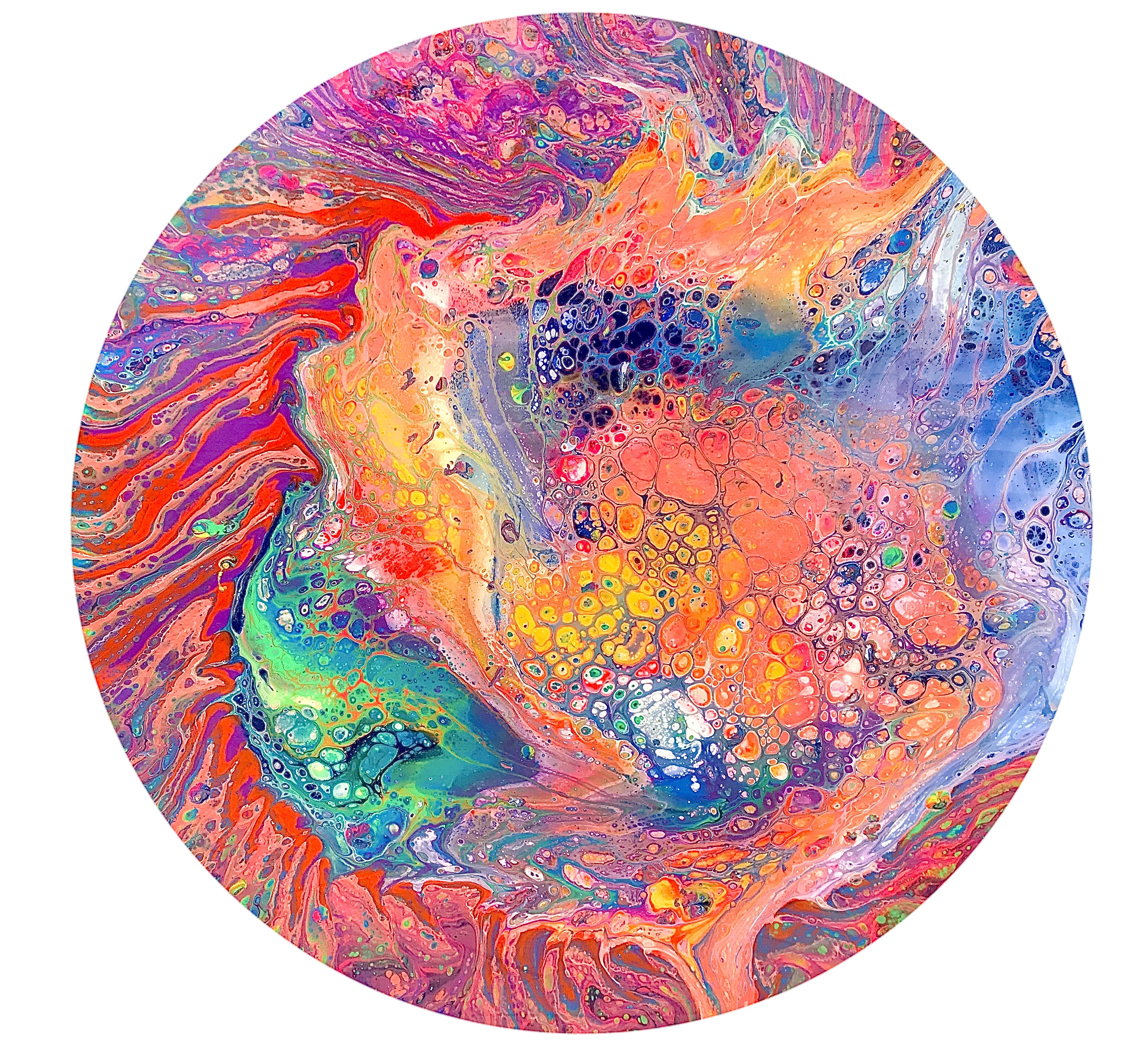 Poured Circle (7)