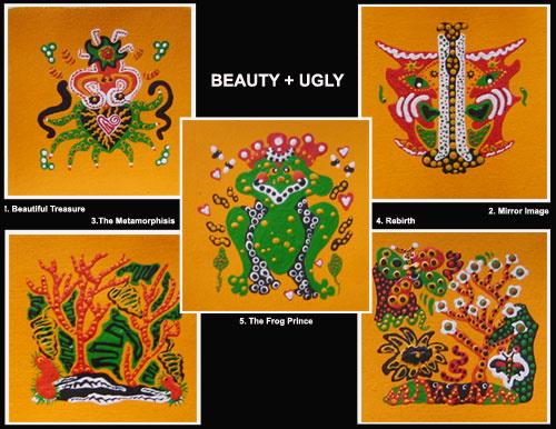 Beauty-Ugly Poster Series